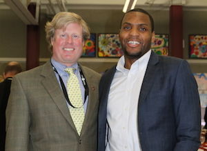 Patrick Williams '12 Delivers Inspiring Keynote at Scholarship Dinner