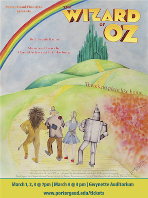 Tickets On Sale Now for the Wizard of Oz