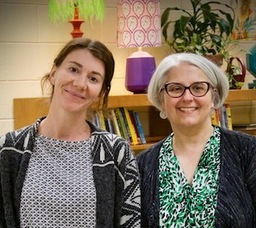 Outside the Classroom with Elizabeth Stribling and Eliza Chandler