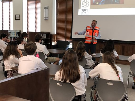 Jewish Life Students Welcome Dov Maisel of United Hatzalah