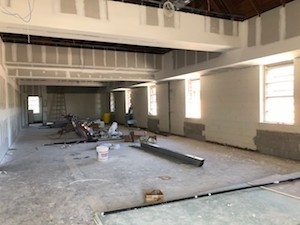 Fine Arts Spaces Taking Shape