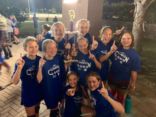 6th Grade Cyclone Volleyball Wins Championship