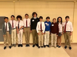 MS Math Team Dominates SCISA Math Meet