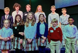 PG Places First at SCISA Regional Spelling Bee