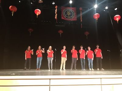 Chinese New Year Celebration at Burke HS